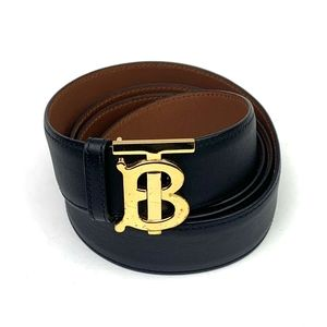 BURBERRY Monogram Motif Reversible Leather…